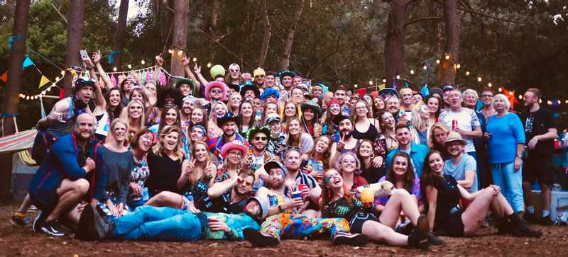 The Wood Party 2019 Group Shot
